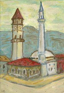 Alush Mullaj Et hem Bey Moskee Tirana Albaniekl